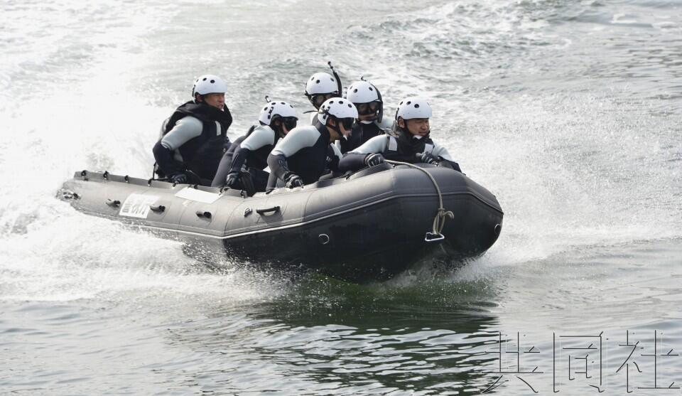 历史首次,日本东京警方为奥运新设临海警备队持枪反恐
