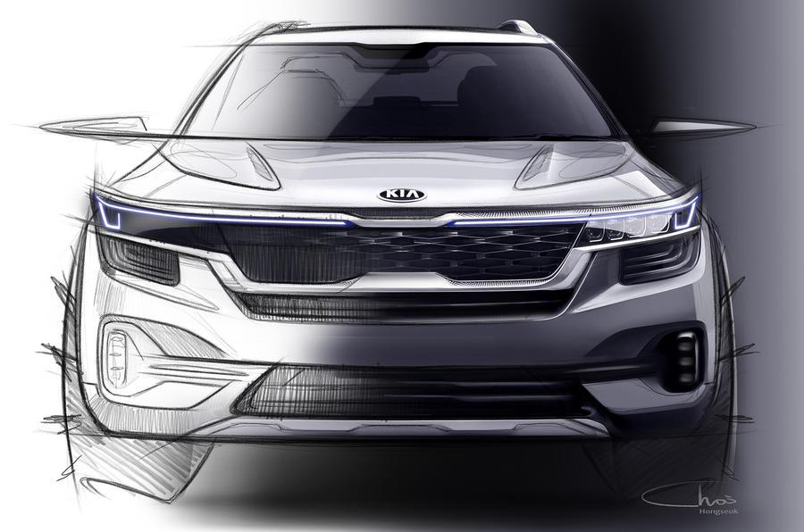 起亚公布全新小型SUV 设计图 年底上市