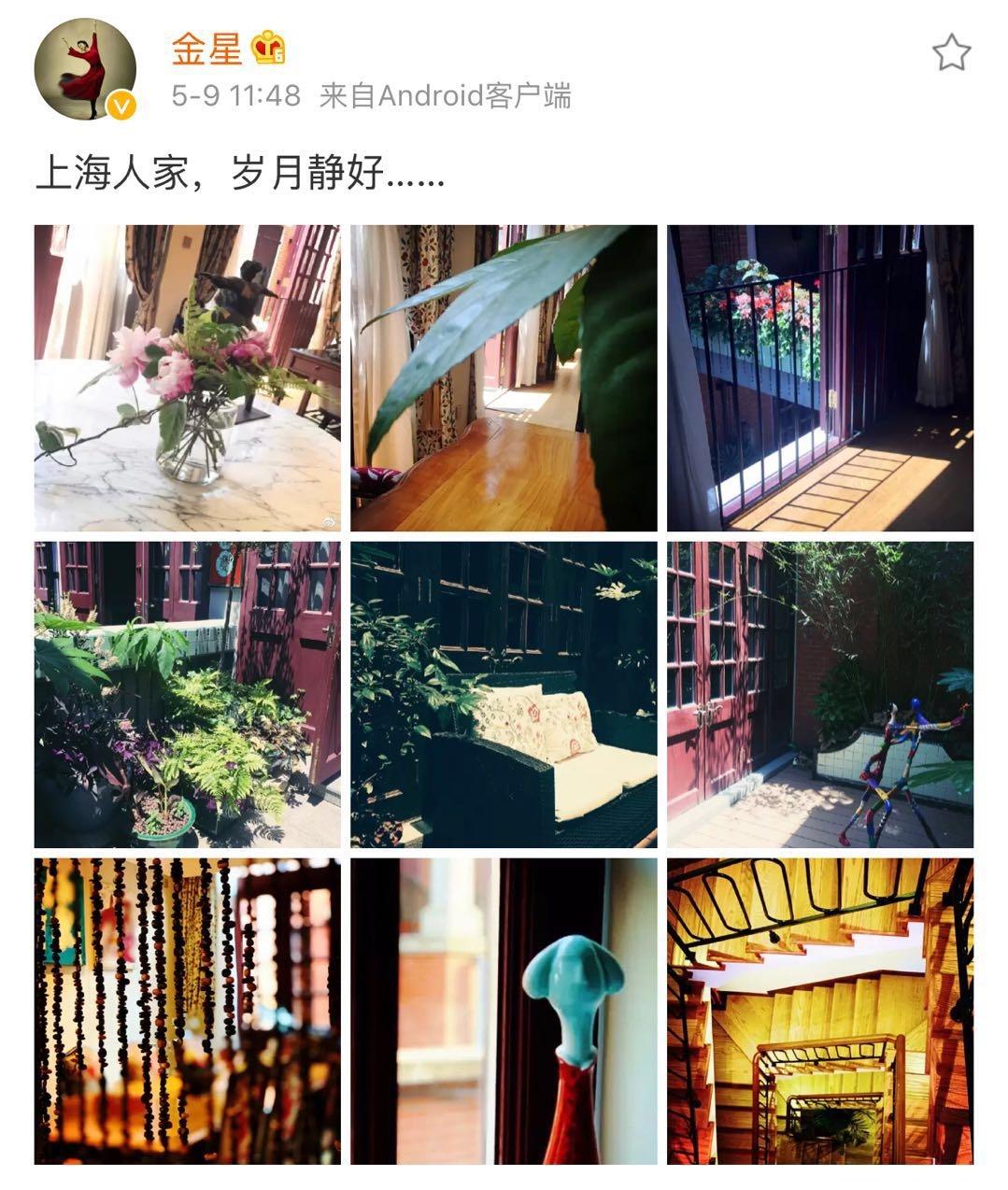 金星晒百万租金的上海豪宅,4层楼房奢侈到让人眩晕