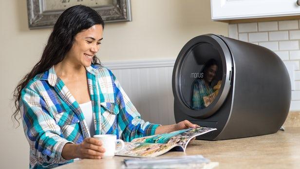 台式烘干机Morus Zero真空蒸发衣物中的水分