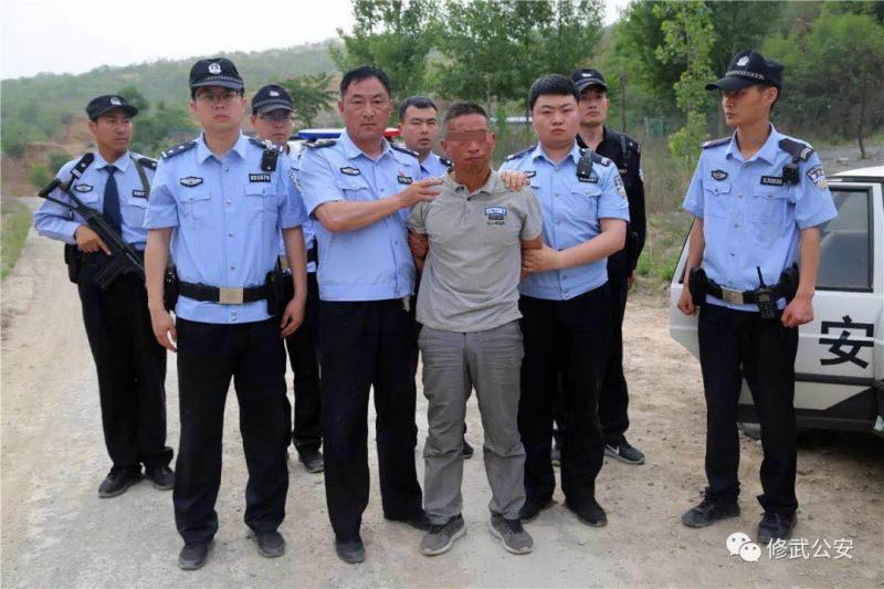男子在河南修武县一出租房内杀人 潜逃一天后被抓