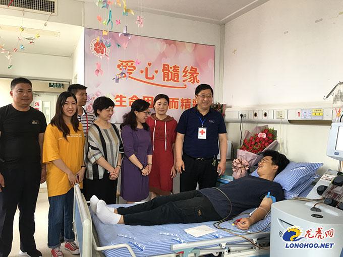 南京95后老师捐造血干细胞救2岁女童