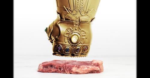 """灭霸同款""""无限手?#20303;?#26494;肉锤 你要来一个吗?"""
