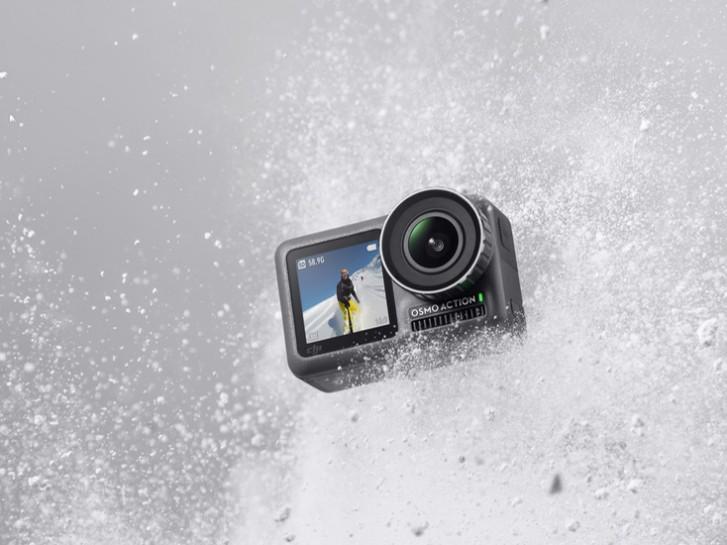 大疆发布运动相机Osmo Action 剑指对手Go Pro