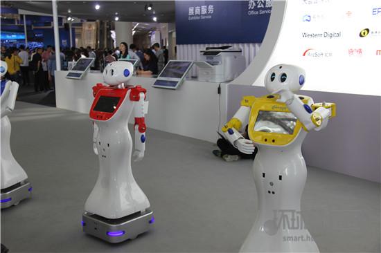 世界智能大会N1馆速览:科研创新、智慧生活展