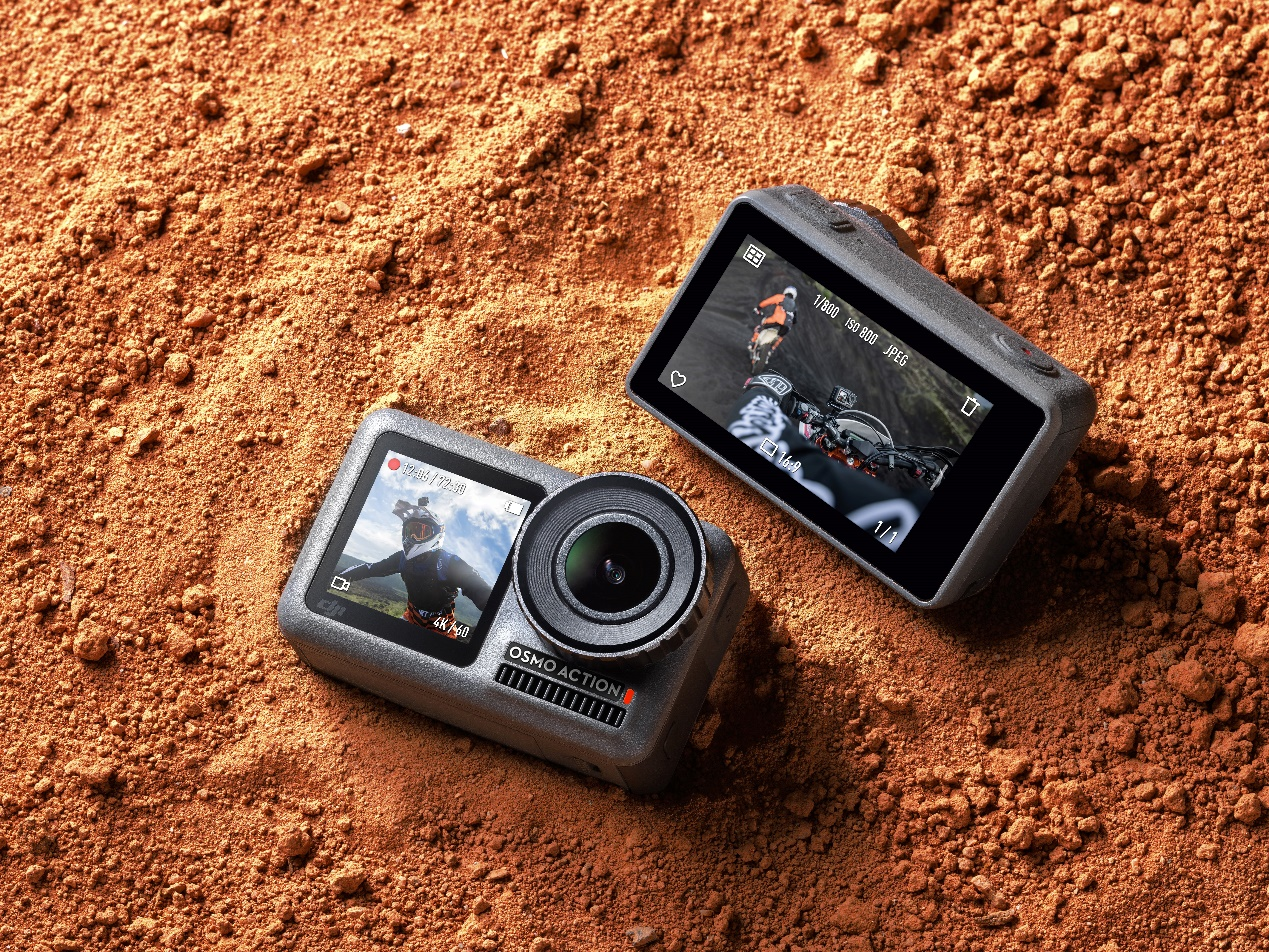 大疆发布Osmo Action灵眸运动相机,售价2499元