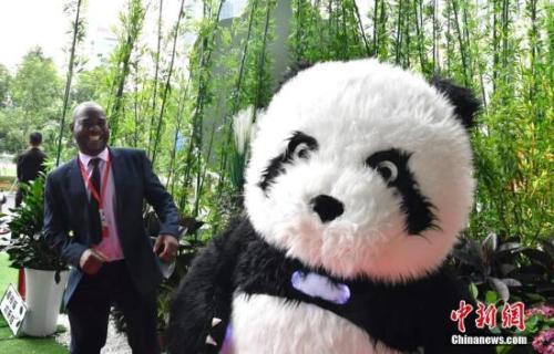 成都熊猫亚洲美食节开幕