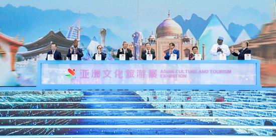 展示亚洲各国文旅产业成果 亚洲文化旅游展在京开幕