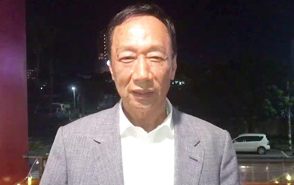 """郭台铭:若当选将广纳人才 共组""""胜利者联盟"""""""