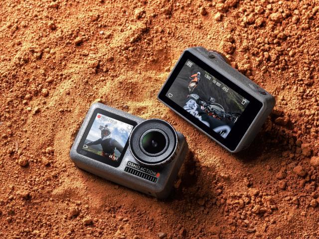 大疆发布Osmo Action灵眸运动相机 前后双彩屏设计