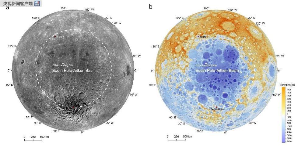 国家天文台:嫦娥四号探测发现月球背面幔源物质证据