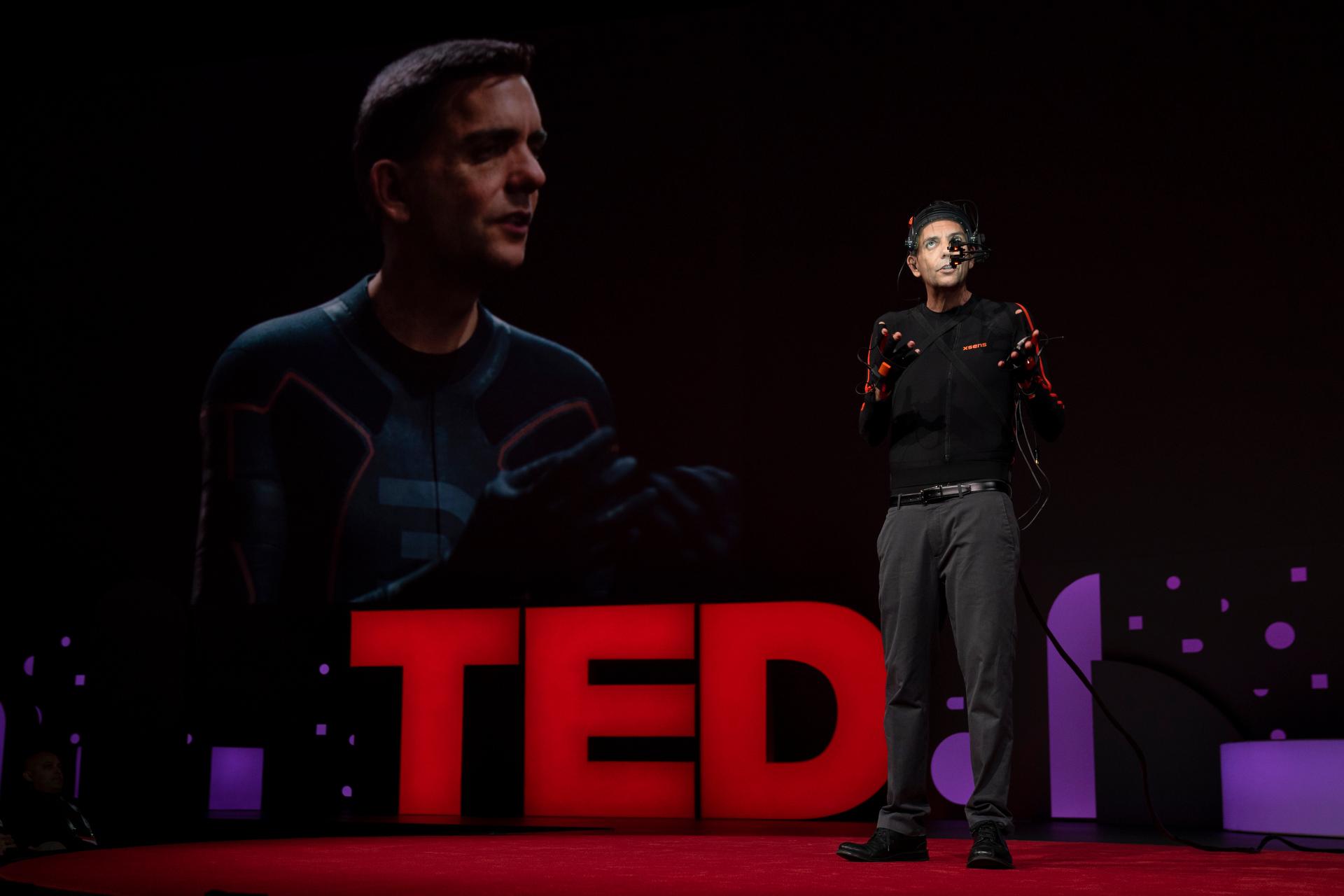 数字王国助力首位虚拟人亮相TED2019