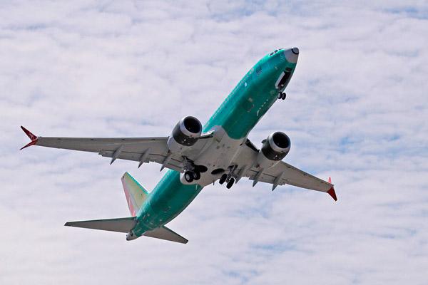 波音称737Max软件更新完成 将与美航空局合作试飞