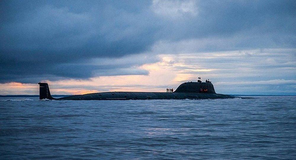 俄媒:俄最新型核潜艇海试中发现多处设计缺陷
