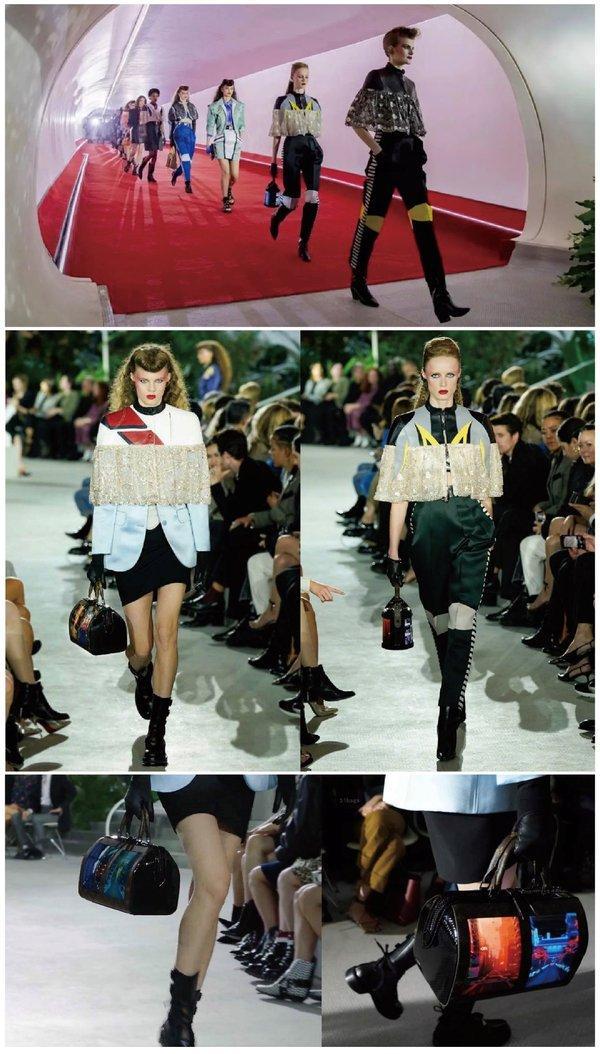 Louis Vuitton联合柔宇推出全球首款柔性屏手袋