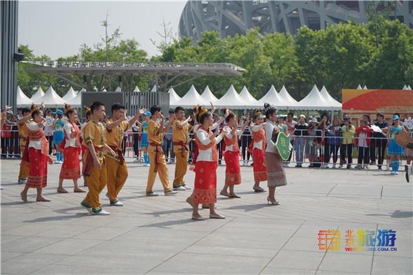 亚洲文明巡游和亚洲美食节在京盛大开幕:展亚洲风情 品亚洲美食