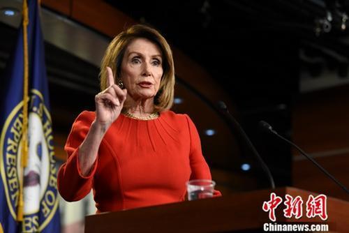美众议长:任何对伊朗军事行动都需要国会批准