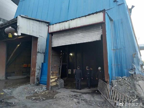 黑龙江一铁矿透水事故:35人升井,被困8人中3人确定位置