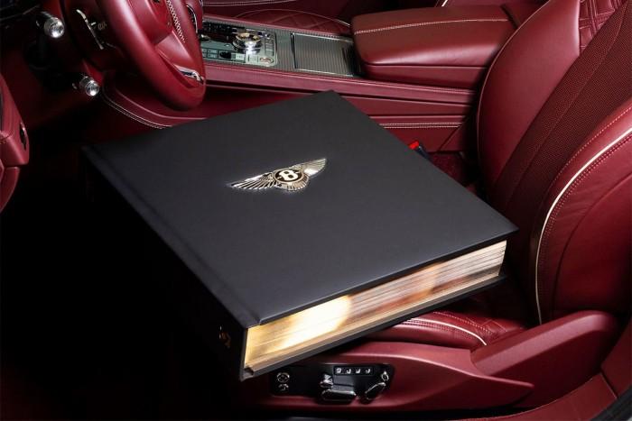 宾利推66磅百年历史定制书籍 最高售价达20万英镑