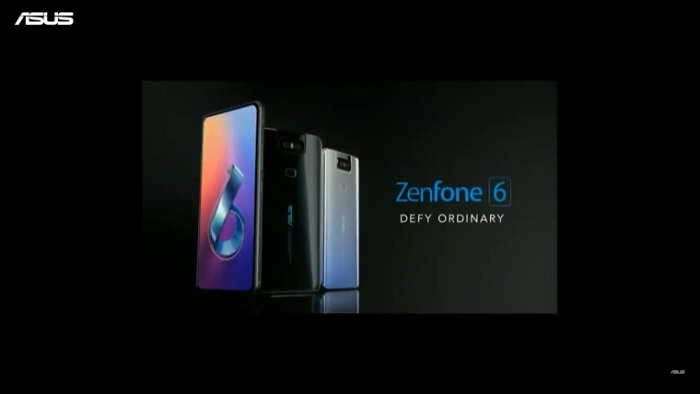 华硕发布ZenFone 6:骁龙855+翻转式摄像头