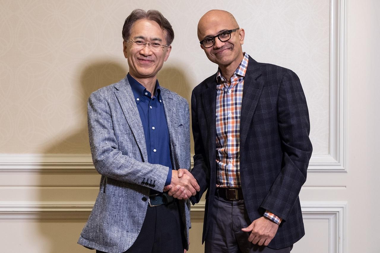 微软、索尼将就云游戏业务展开合作