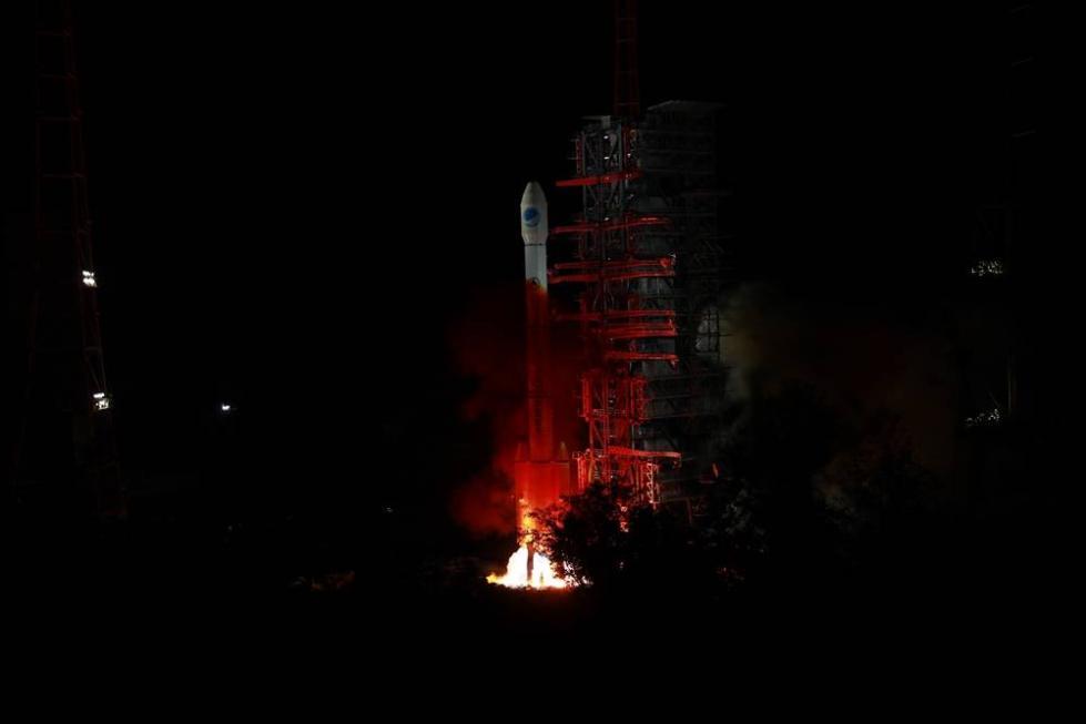 我国成功发射第四十五颗北斗导航卫星