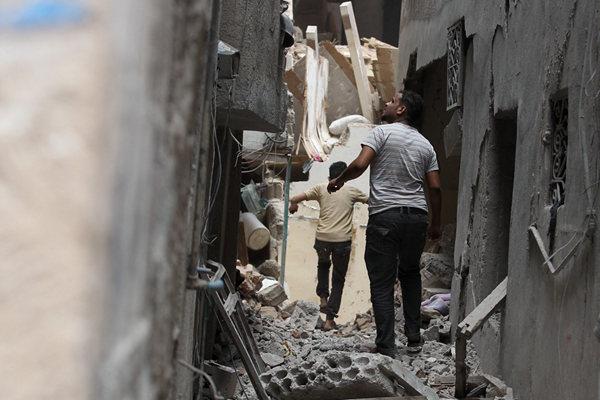 也门萨那遭多国联军空袭 已致6人死亡