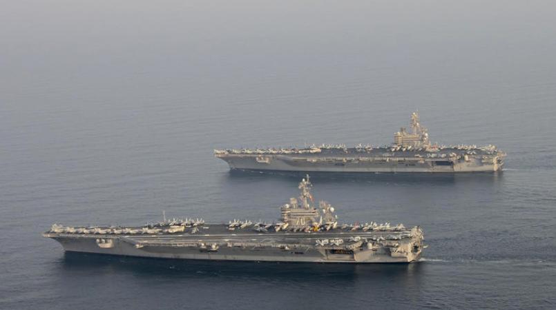 """伊朗警告:美军舰已进入导弹""""射程范围内"""""""
