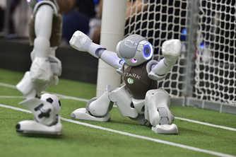机器人世界杯亚太天津国际邀请赛在天津举行