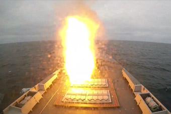 北約9國海上反導演習 歐洲最強隱身護衛艦開火