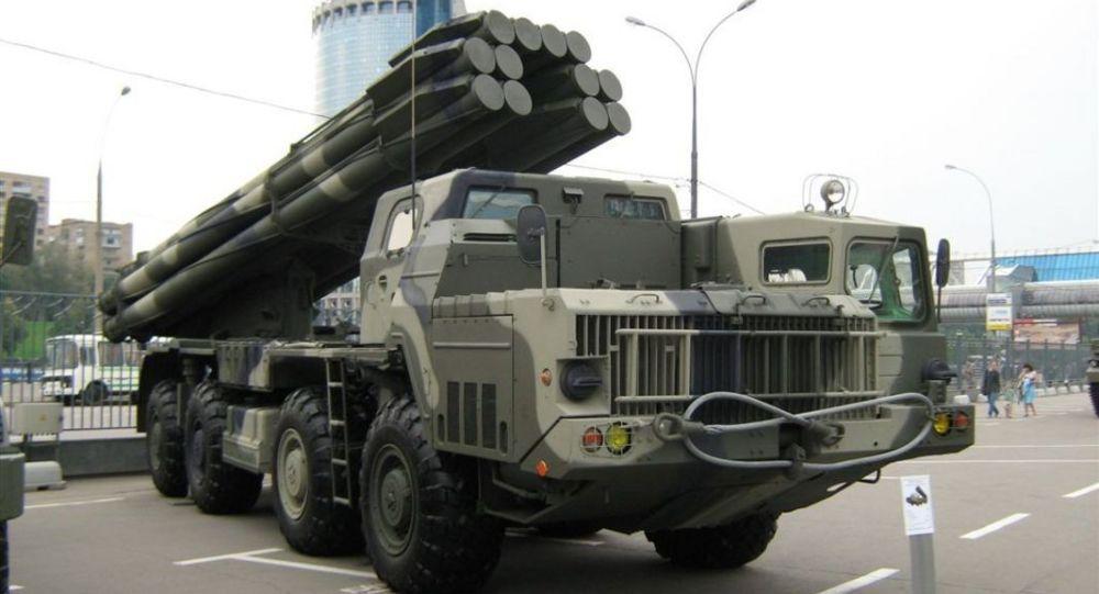 俄軍列裝新型龍卷風-S火箭炮 射程和精準度提升