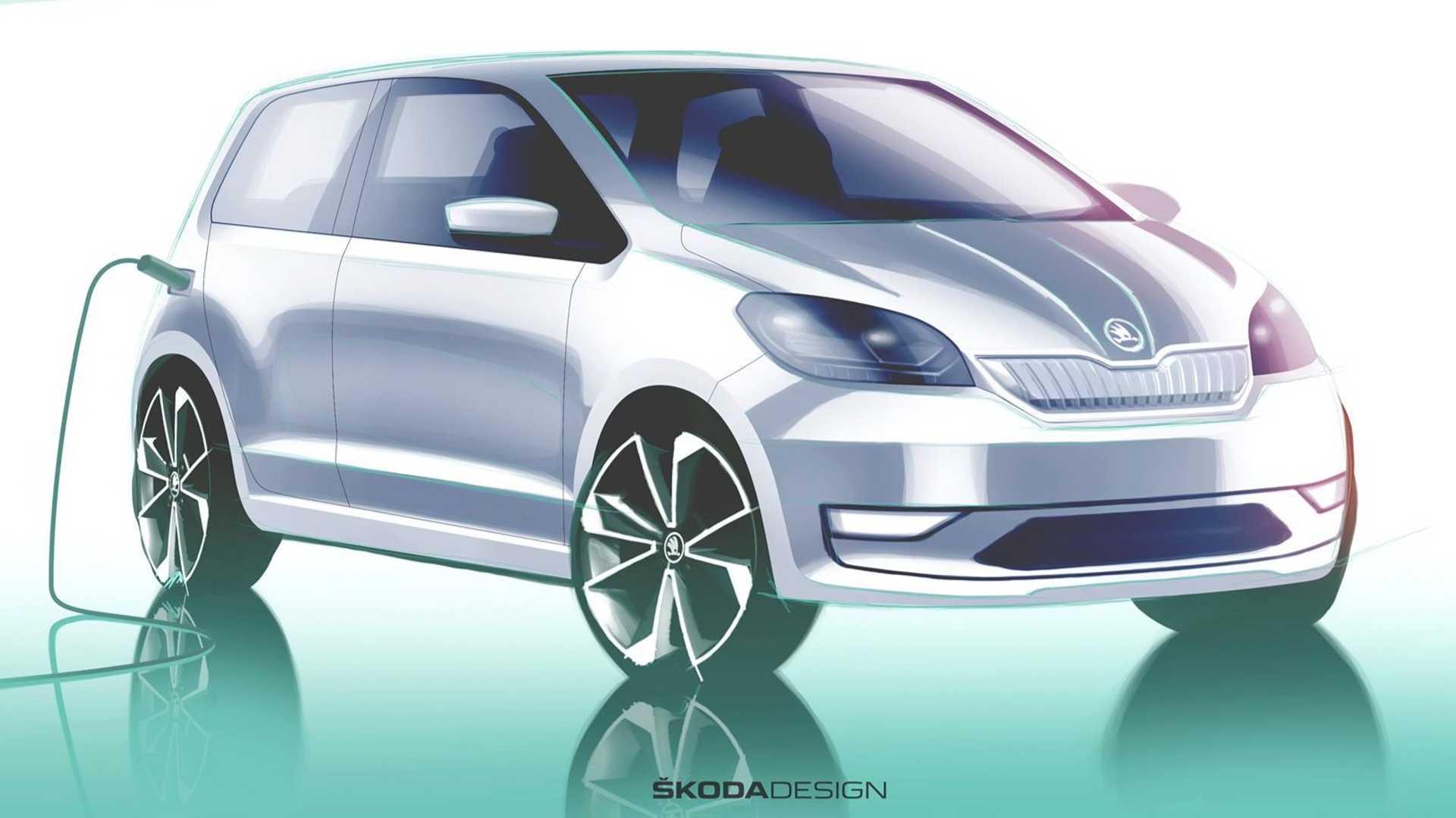 斯柯达首款纯电动汽车Citigo-e iV将于5月23日揭晓
