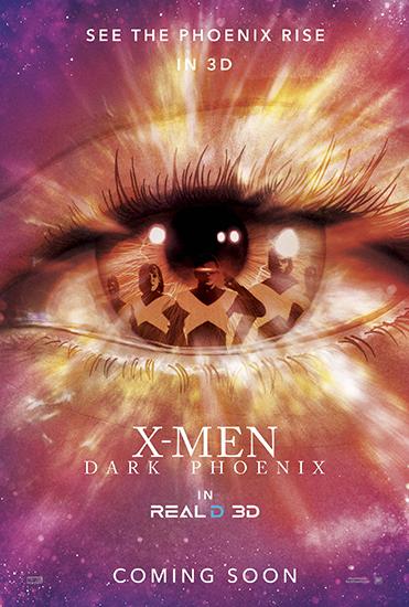 《X战警:黑凤凰》曝制式海报 打造炸裂特效质感