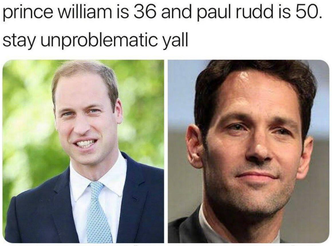 《复联4》又出新热搜 50岁的蚁人看着比36岁的威廉王子还年轻