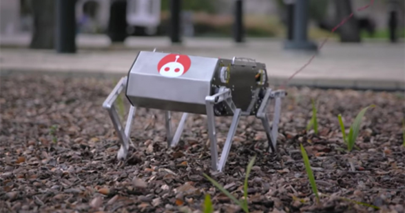 斯坦福大学开发出能小跑、后空翻的机器狗Doggo