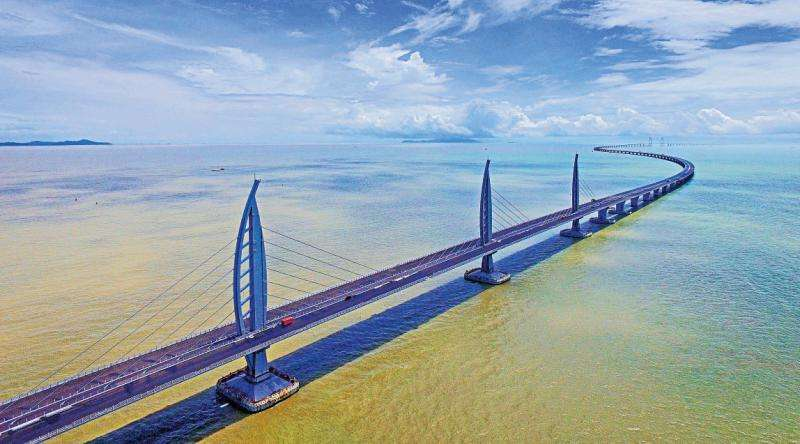 """澳门新八景命名完成 港珠澳大桥""""桥牵三地"""""""