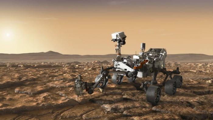 NASA首次对外披露Mars 2020全新飞船