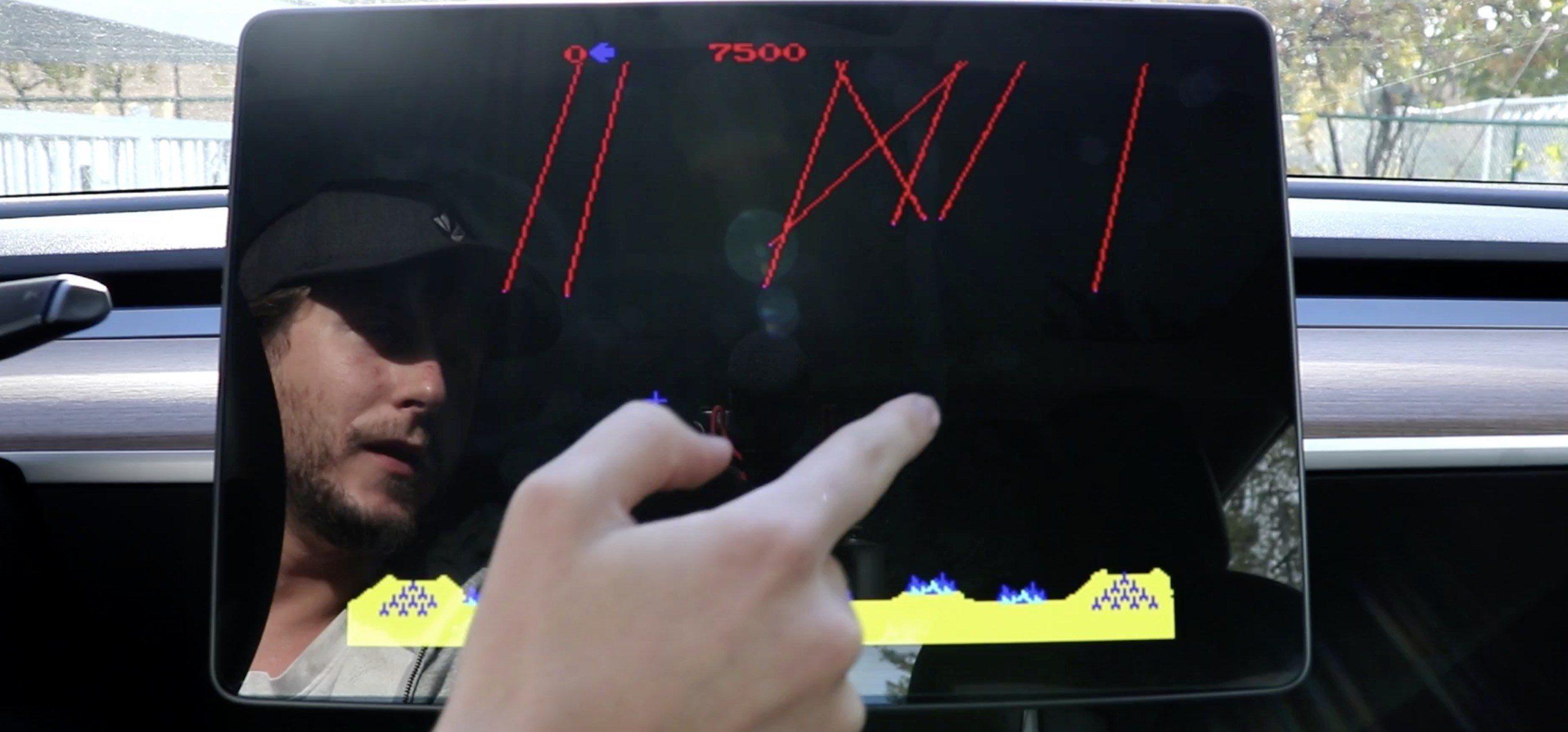 特斯拉拟更新上线多款新车机游戏