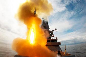 英军45型驱逐舰展示反导能力 垂射先进拦截弹