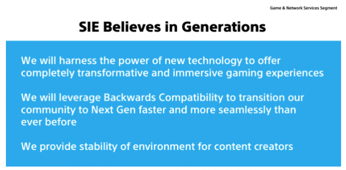 索尼:PS4还能再战三年 PS5向下兼容支持光追