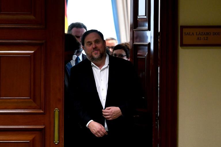 5名加泰分离分子当选西班牙议员 将被押往国会宣誓就职