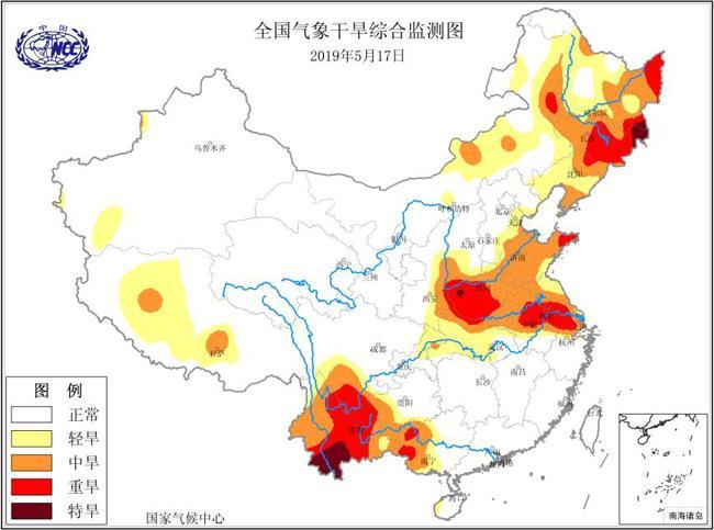 云南局地出现特旱:平均降水量58年来最少,气温58年来最高