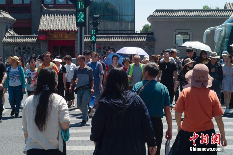 北京天气晴晒 未来三天将出现35℃以上高温