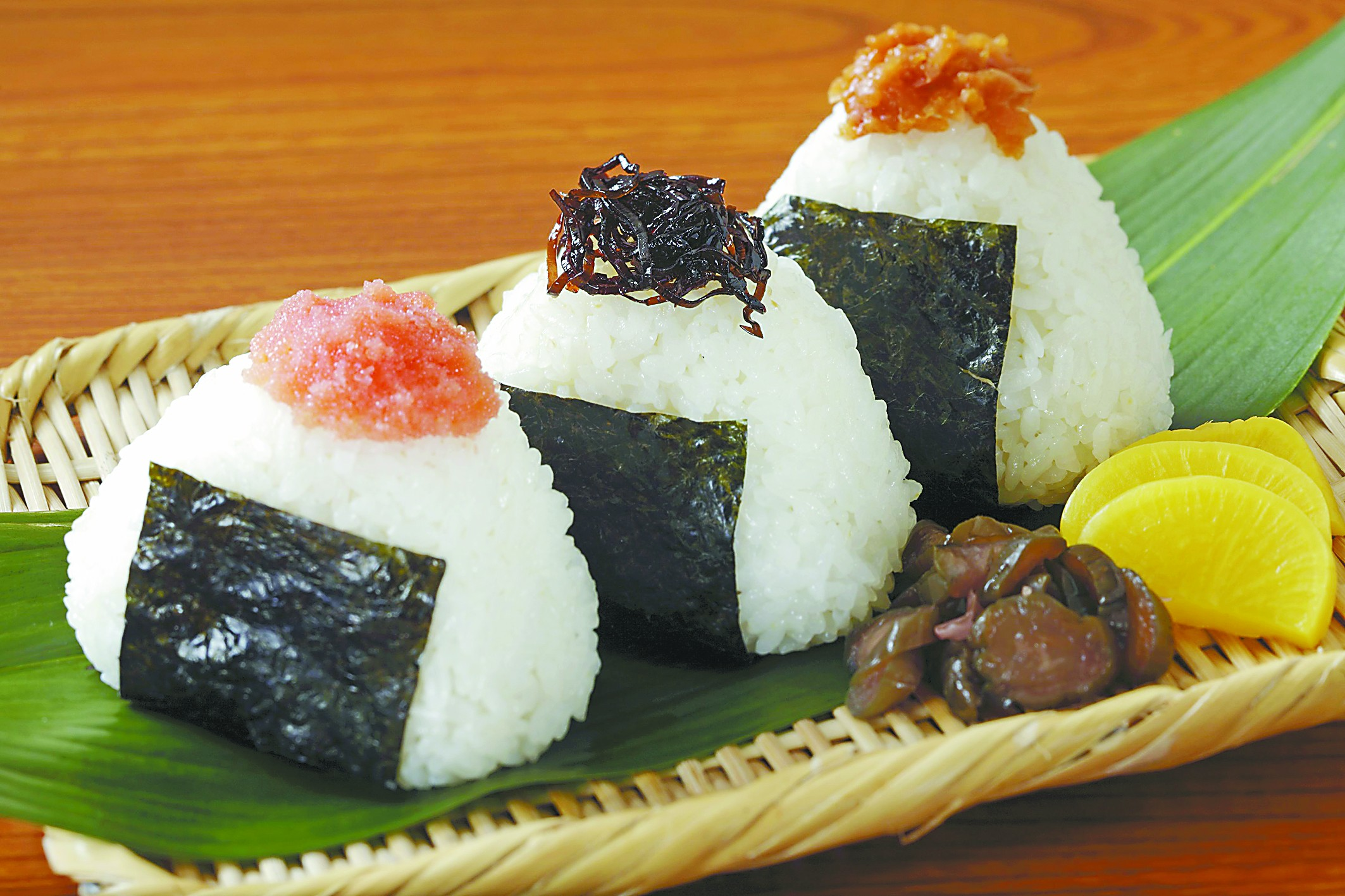 日本饭团包罗万象