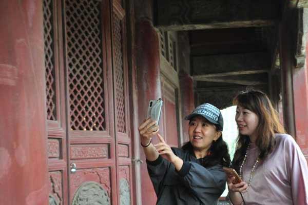 沈阳故宫凤凰楼关闭近30年后重新开放
