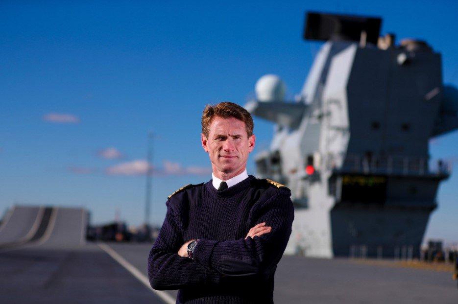公車私用被發現 英海軍唯一現役航母艦長被解職