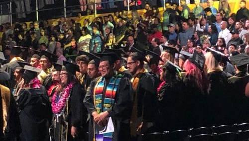 美国高校毕业季 中国留学毕业生不焦虑