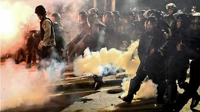 印尼大選結果公布引發騷亂 緻6人死亡200人受傷