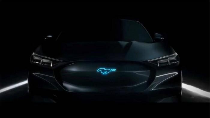 福特首款纯电动车Mach-E更多信息 今年底亮相