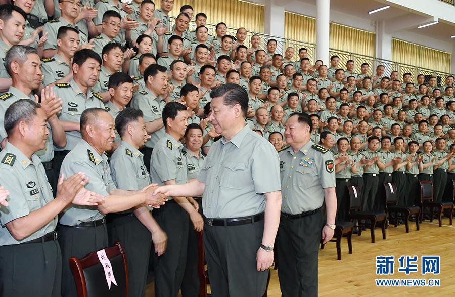 習近平:全面提高辦學育人水平 為強軍事業提供有力人才支持